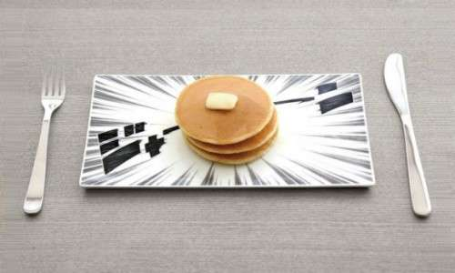 Manga-Inspired Dishware