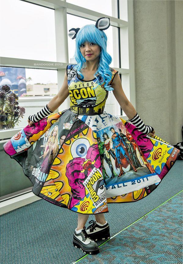 Superhero Memorabila Dresses