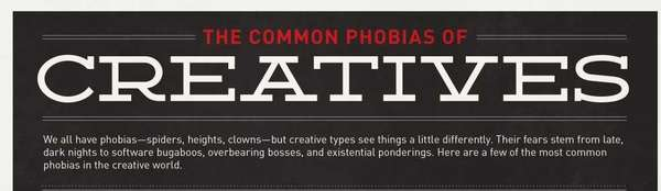 common phobias of creatives