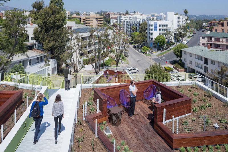 Communal Rooftop Spaces