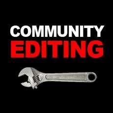 Community Editing
