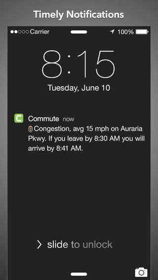 Proactive Commuter Apps