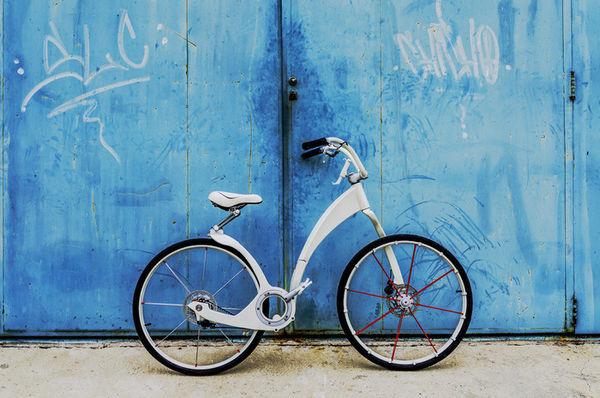 Stylishly Foldable Bicycles