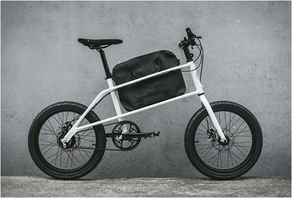 Briefcase-Holding Commuter Bikes