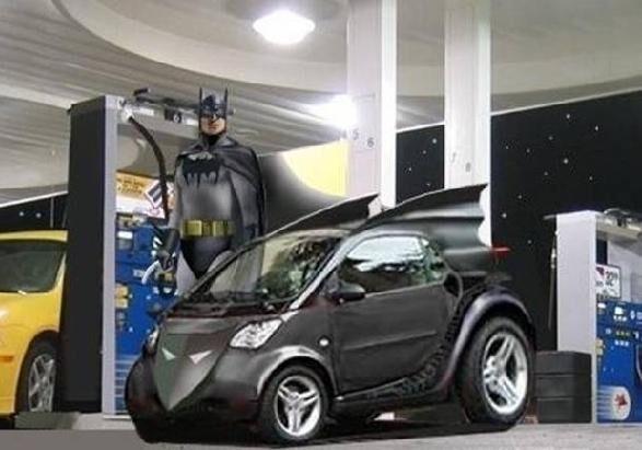 Compact Batmobiles