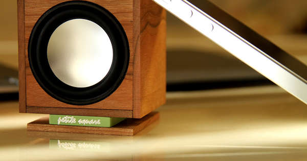 High-Tech Timber Speakers