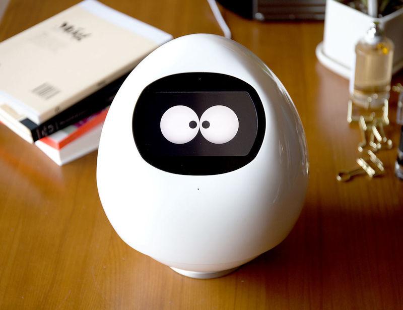 Adorable Egg Shaped Robots Companion Robot