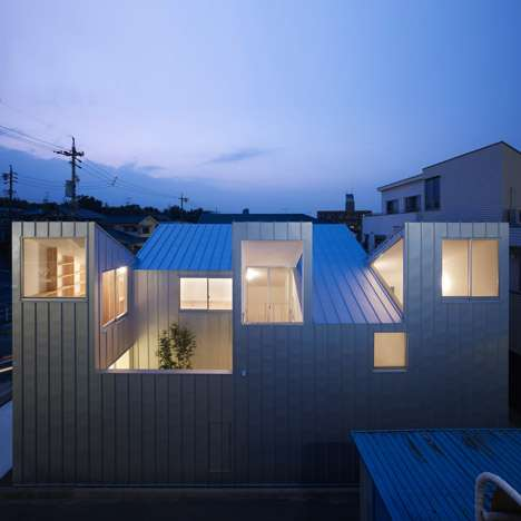 Angular Rooftop Abodes