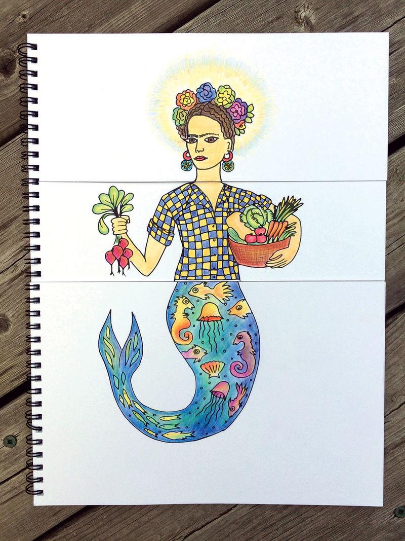 Feminist Colouring Books