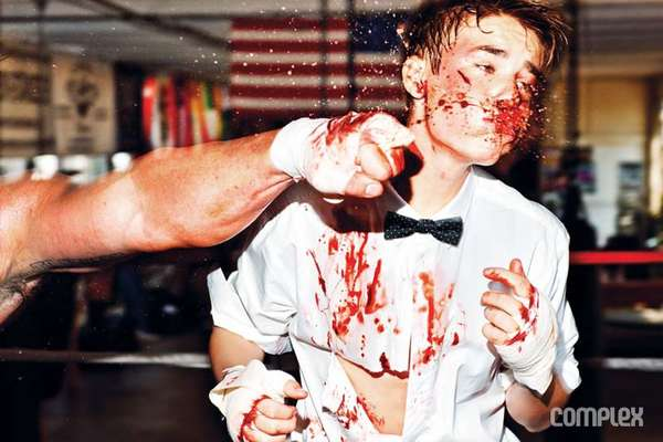 Bloodied Teen Star Shoots