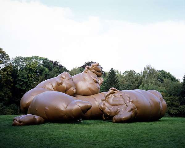 Weird Inflatable Sculptures