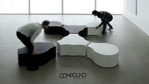 Curvy Modular Seating