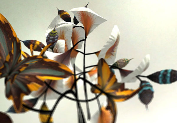 Stunning Computer-Generated Flowers