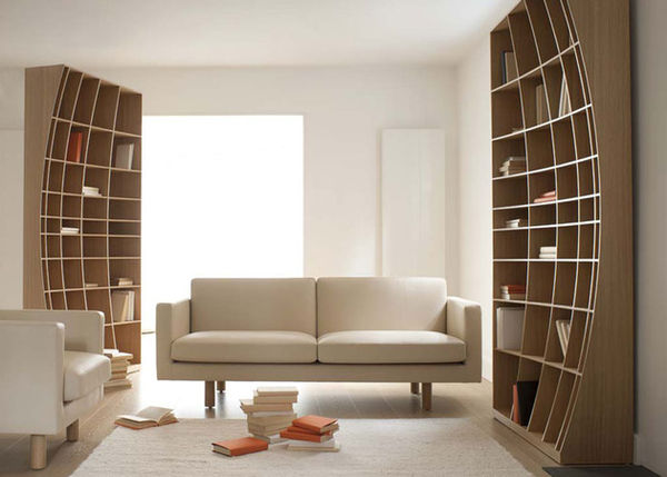 Optical Illusion Shelving