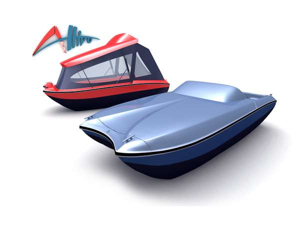 Supercar Masters Designs Boat