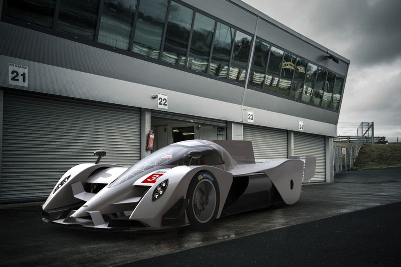 Hydrogen-Powered Racing Vehicles