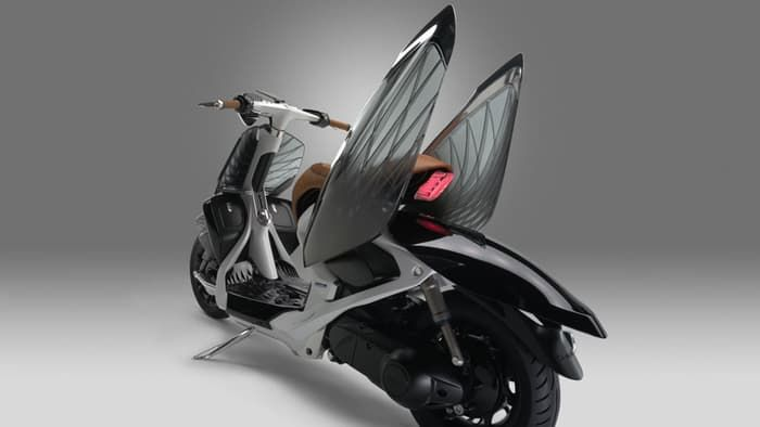 Winged Concept Scooters