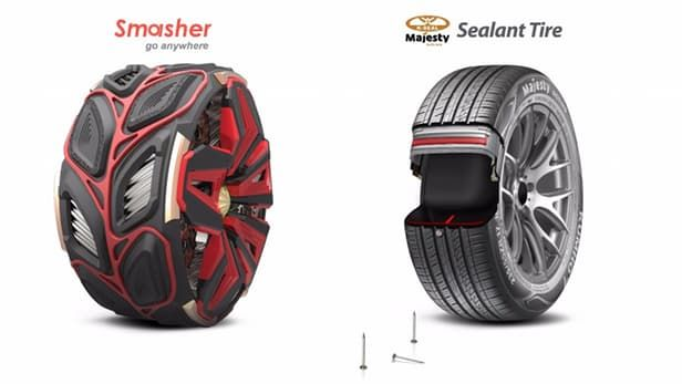 Trailblazing Tire Designs Concept Tire