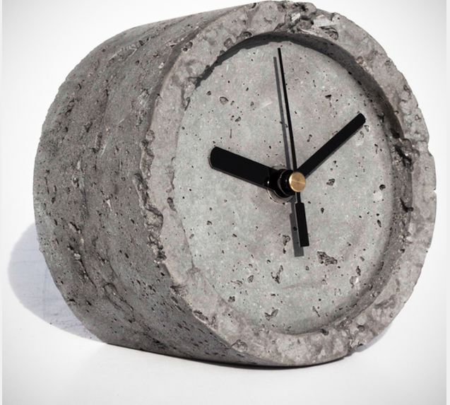 Solid Concrete Timekeepers