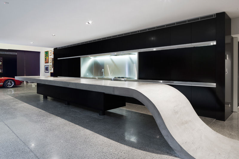 Connected Concrete Countertops