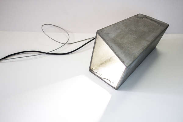 Cement Ceiling Lamps