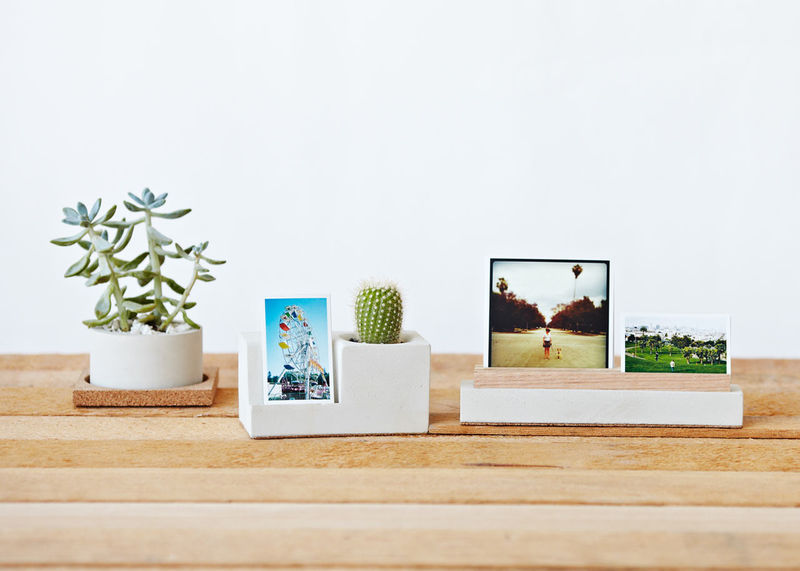 Concrete Photo Blocks