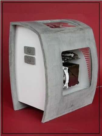 Concrete PC Cases