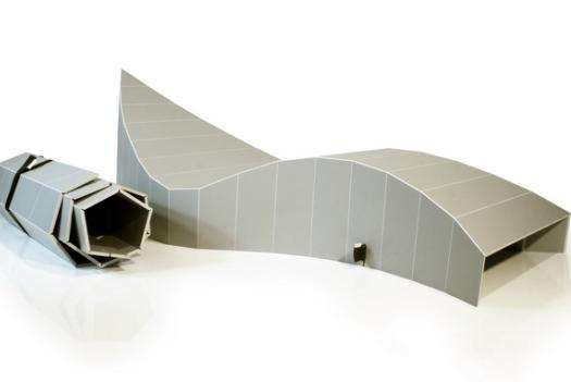 Curvy Foldable Loungers
