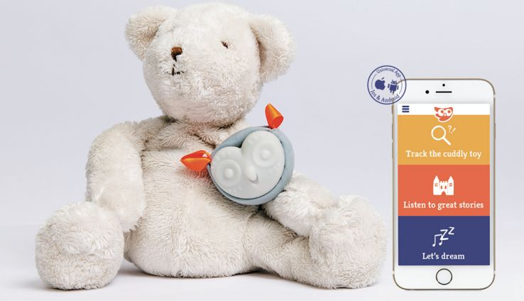 Smartphone-Connected Stuffed Animals