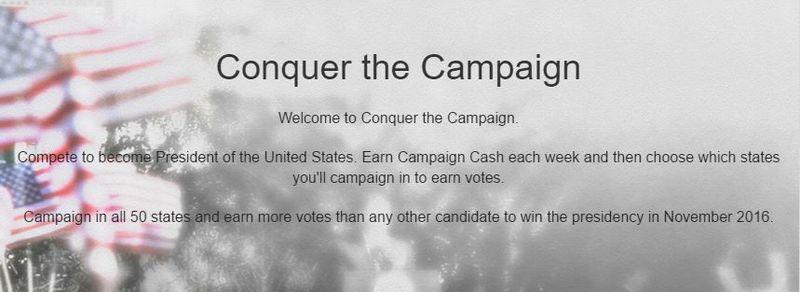 Political Fantasy Games