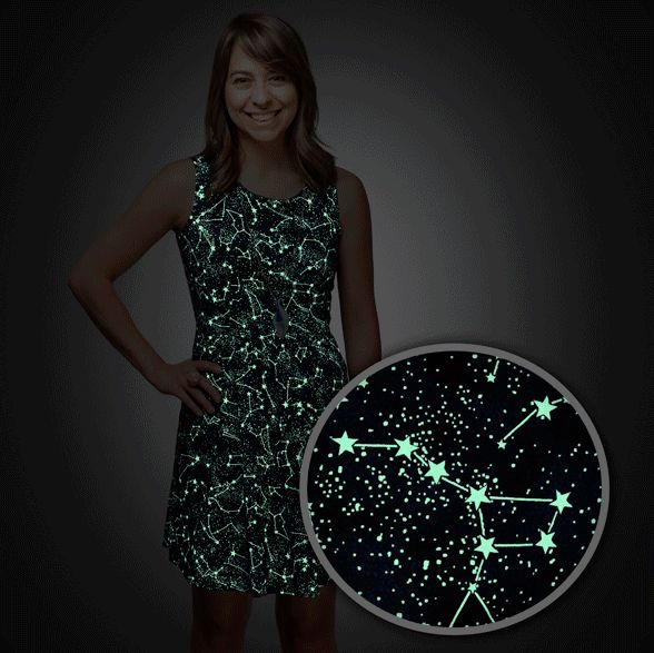 Glowing Constellation Dresses Constellation Dress