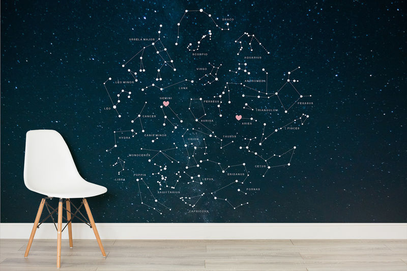 Personalized Constellation Murals Constellation Mural