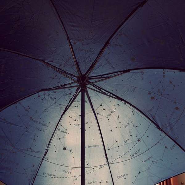 Breathtaking Stargazing Umbrellas