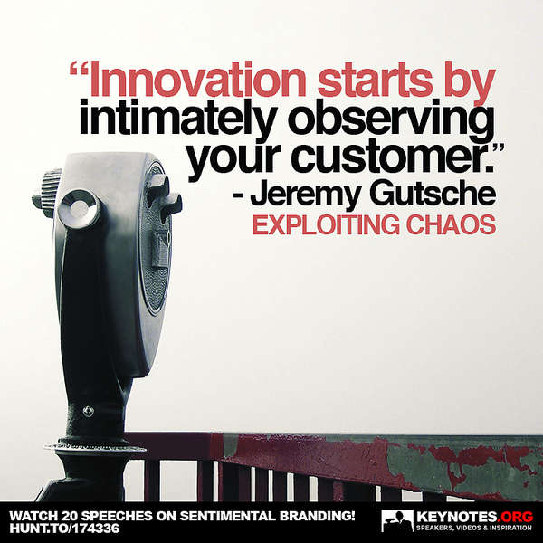Innovation Starts by Knowing Your Consumer