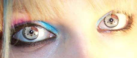 Hello Kitty Lenses & Other Crazy Contacts