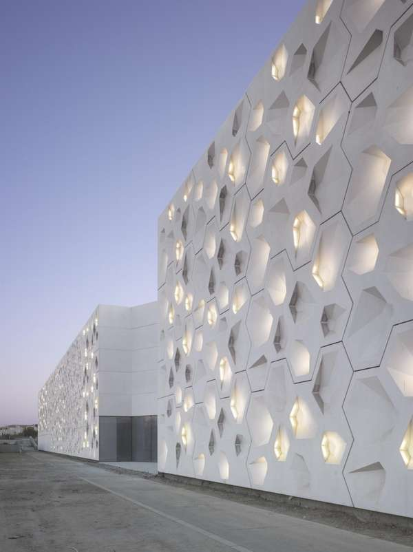 Contemporary Arts Center Cordoba by Nieto Sobejano Arquitectos