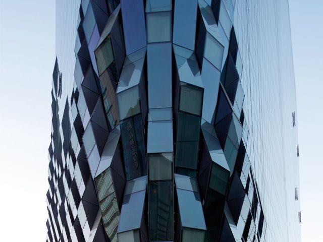 Futuristic Fabric Facades : Contemporary Architecture