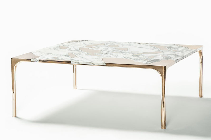 Seeping Marble Tables Contemporary Coffee Table