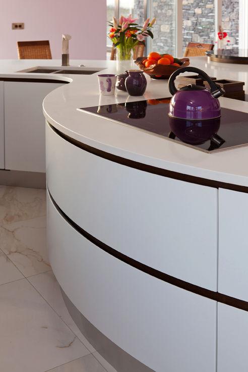 Funky Geometric Kitchens