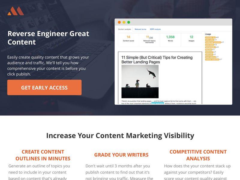 Optimized Content Programs