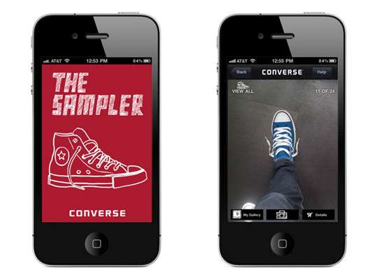 converse sampler iphone app