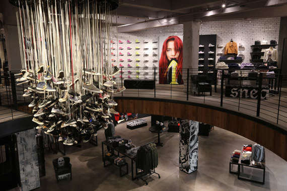 Street culture sneaker shops converse san francisco store for Trend design shop