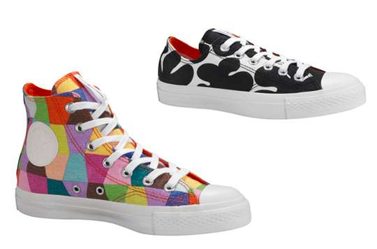 Multicolored Street Kicks