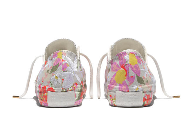 Floral Silhouette Sneakers