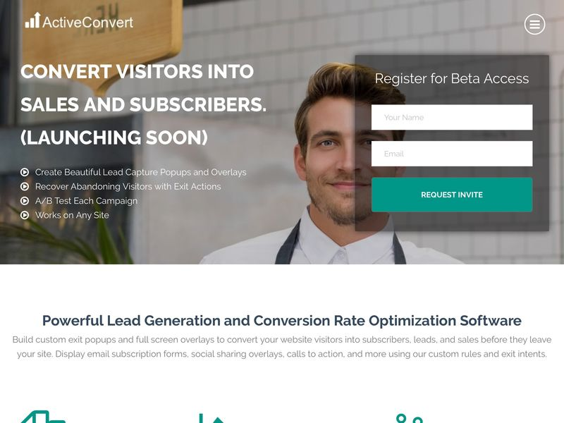 Website Visitor-Converting Services