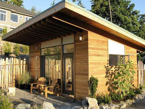 storage sheds turned into homes