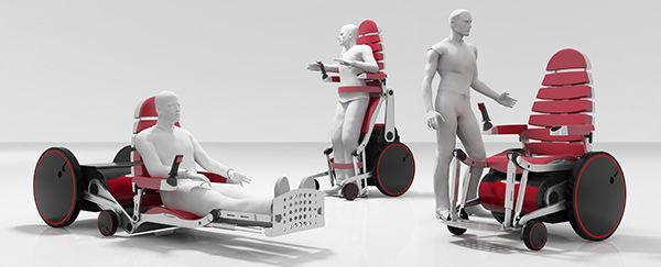 Convenient Convertible Wheelchairs