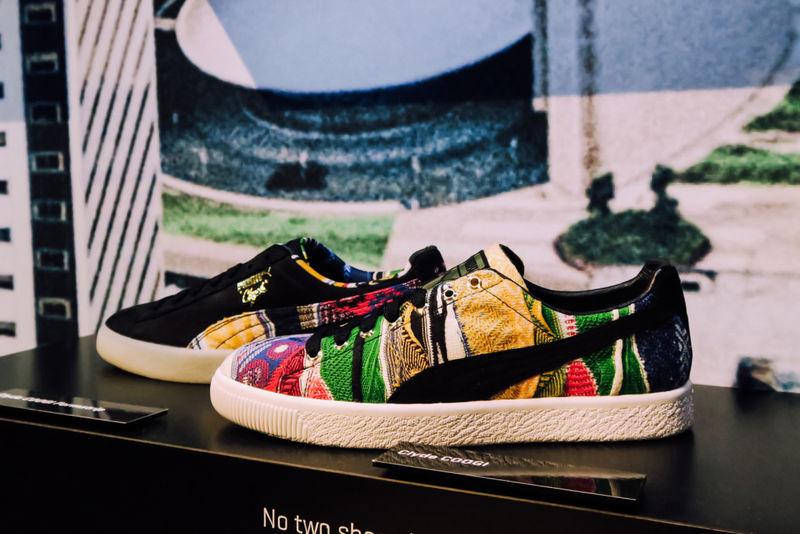 Colorful Kaleidoscope-Print Sneakers