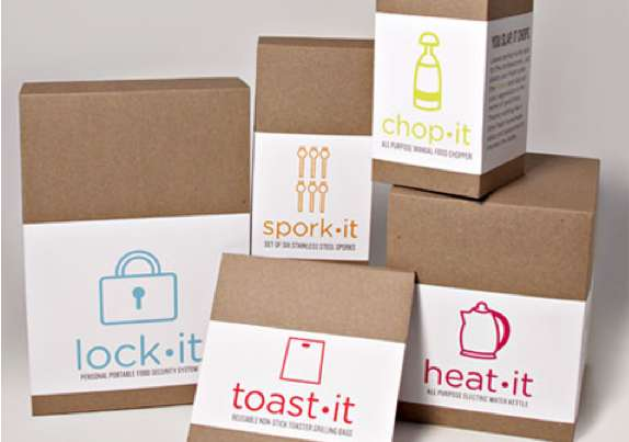 Iconic Culinary Packaging