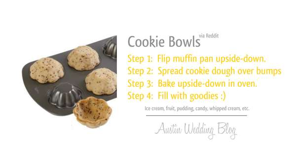 DIY Cookie Bowls